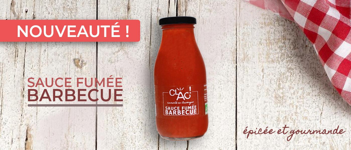 sauce barbecue clac bio locale artisanal