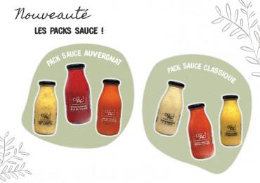 Les sauces bio gourmandes et auvergnates